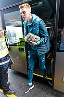 Sam Clucas of Swansea City arrives prior to the game during the Premier League match between Watford and Swansea City at the Vicarage Road, Watford, England, UK. Saturday 30 December 2017