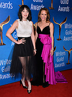 LOS ANGELES, CA. February 17, 2019: Jen Kirkman & Sheila Lawrence at the 2019 Writers Guild Awards at the Beverly Hilton Hotel.<br /> Picture: Paul Smith/Featureflash
