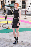 Eleanor Tompkinson at the Royal Academy of Arts Summer Exhibition 2015 at the Royal Academy, London. <br /> June 3, 2015  London, UK<br /> Picture: Dave Norton / Featureflash