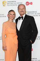Kelsey Grammer and Kayte Walsh at the Virgin Media BAFTA Television Awards 2019 - Press Room at The Royal Festival Hall, London on May 12th 2019<br /> CAP/ROS<br /> ©ROS/Capital Pictures