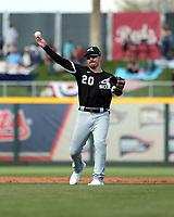 Danny Mendick - Chicago White Sox 2020 spring training (Bill Mitchell)