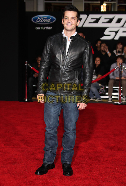 6 March 2014 - Hollywood, California - Jonathan Del Arco. &quot;Need For Speed&quot; Los Angeles Premiere held at the TCL Chinese Theatre.  <br /> CAP/ADM/RE<br /> &copy;Russ Elliot/AdMedia/Capital Pictures