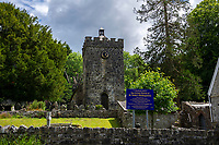A general View of Saint Teilo's Church in Bishopston, Swansea, Wales, UK. Monday 10 June 2019