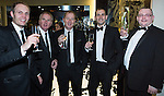 © Joel Goodman - 07973 332324 . 06/11/2014 .  Manchester , UK . Guests at the awards talking and networking . The MEN Business Awards 2014 at the Midland Hotel . Photo credit : Joel Goodman