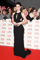 Anna Passey at the National TV Awards 2017 held at the O2 Arena, Greenwich, London. <br /> 25th January  2017<br /> Picture: Steve Vas/Featureflash/SilverHub 0208 004 5359 sales@silverhubmedia.com