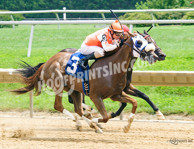 Simply Great winning at Delaware Park on 7/15/17