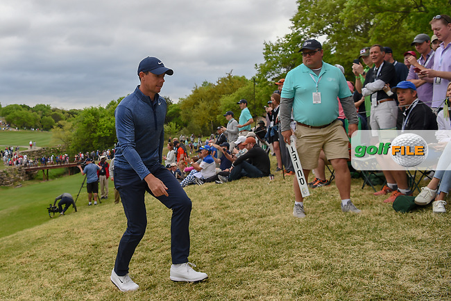 Rory McIlroy (NIR) heads to the tee on 4 during day 4 of the WGC Dell Match Play, at the Austin Country Club, Austin, Texas, USA. 3/30/2019.<br /> Picture: Golffile | Ken Murray<br /> <br /> <br /> All photo usage must carry mandatory copyright credit (© Golffile | Ken Murray)