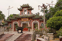 The Phuoc Kien Assembly Hall is one of several Chinese assembly halls in downtown Hoi An, central Vietnam.