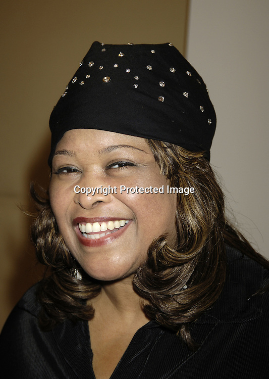 """Felicia P Fields  ..at a press rehearsal of the new musical """"The Color Purple"""" ..on October 12, 2005 at the New 42nd Street Studios. ..Photo by Robin Platzer, Twin Images"""