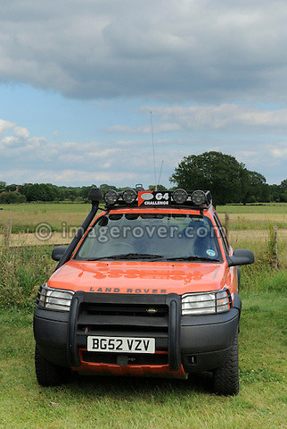 Freelander G4 Challenge. Dunsfold Collection Open Day 2009. NO RELEASES AVAILABLE.