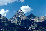 WY: Grand Teton National Park, Wyoming; view of Grand Teton            .Photo Copyright: Lee Foster, lee@fostertravel.com, www.fostertravel.com, (510) 549-2202.Image: wygran222