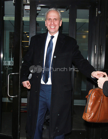 NEW YORK, NY - FEBRUARY 7: Bob Roth at Good Day NY promoting his new transcendental meditation book Strength In Stillness in New York. February 07, 2018. Credit: RW/MediaPunch