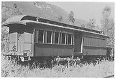 RGS combination car #259 at West Durango.<br /> RGS  West Durango, CO  Taken by Maxwell, John W. - 1933