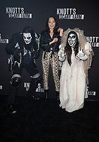 BUENA PARK, CA - SEPTEMBER 29: Kelli Berglund, at Knott's Scary Farm & Instagram's Celebrity Night at Knott's Berry Farm in Buena Park, California on September 29, 2017. Credit: Faye Sadou/MediaPunch