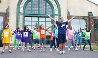 Trenton Education Dance Institute dancers, Grounds for Sculpture, Hamilton, New Jersey