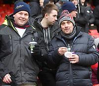 Bolton Wanderers FansPhotographer Mick Walker/CameraSportThe EFL Sky Bet Championship - Sheffield United v Bolton Wanderers - Saturday 2nd February 2019 - Bramall Lane - SheffieldWorld Copyright © 2019 CameraSport. All rights reserved. 43 Linden Ave. Countesthorpe. Leicester. England. LE8 5PG - Tel: +44 (0) 116 277 4147 - admin@camerasport.com - www.camerasport.com
