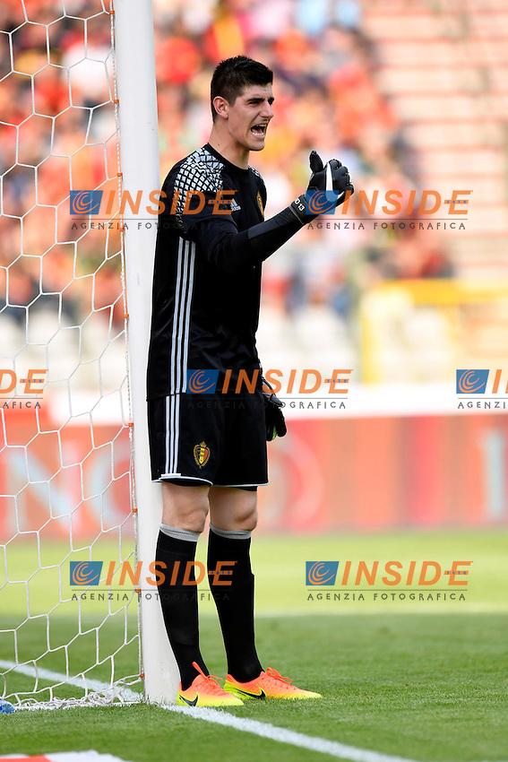 Courtois Thibaut goalkeeper of Belgium <br /> Bruxelles 05-06-2016 Calcio Amichevole Belgio Norvegia<br /> Foto Photonews/Panoramic/Insidefoto