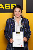 Girls Hockey winner Danielle Sutherland from Diocesan School for Girls. ASB College Sport Young Sportsperson of the Year Awards held at Eden Park, Auckland, on November 24th 2011.