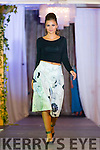 Ruzena Kristofova from Norma O'Donoghue Modelling Agency on the catwalk of the Cairde an Leigiun Designer Fashion Event at The Malton Hotel, Killarney last Friday night.