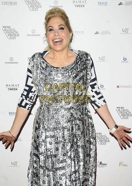 LONDON, ENGLAND - OCTOBER 30: Brix Smith Start attends the WGSN Global Fashion Awards 2013, V&amp;A Museum, on Wednesday October 30, 2013 in London, England, UK.<br /> CAP/CAN<br /> &copy;Can Nguyen/Capital Pictures