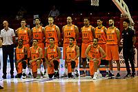 GRONINGEN - Basketbal, Nederland - Roemenie, WK kwalificatie 2019, Martiniplaza, 28-06-2018 teamfoto Orange Lions