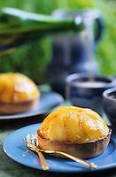 Europe/France/Normandie/Basse-Normandie/14/Calvados/Honfleur: Mirliton de pommes - Recette de Pascal Vuillemin chef de la ferme Saint-Simeon