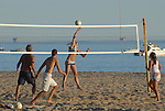 Volleyball on East Beach in Santa Barbara