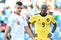 Aaron Leya Iseka of Belgium  looks on<br /> Reggio Emilia 16-06-2019 Stadio Città del Tricolore <br /> Football UEFA Under 21 Championship Italy 2019<br /> Group Stage - Final Tournament Group A<br /> Poland - Belgium<br /> Photo Cesare Purini / Insidefoto