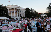 United States President Barack Obama hosts the Congressional Picnic on the South Lawn of the White House in Washington, D.C. on September 17,2014.<br /> Credit: Dennis Brack / Pool via CNP