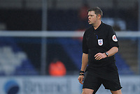 Referee Brett Huxtable<br /> <br /> Photographer Kevin Barnes/CameraSport<br /> <br /> The EFL Sky Bet League One - Bristol Rovers v Fleetwood Town - Saturday 22nd December 2018 - Memorial Stadium - Bristol<br /> <br /> World Copyright &copy; 2018 CameraSport. All rights reserved. 43 Linden Ave. Countesthorpe. Leicester. England. LE8 5PG - Tel: +44 (0) 116 277 4147 - admin@camerasport.com - www.camerasport.com