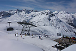 Top of Rufibahn Gondola, Lech Ski Area, St Anton, Austria