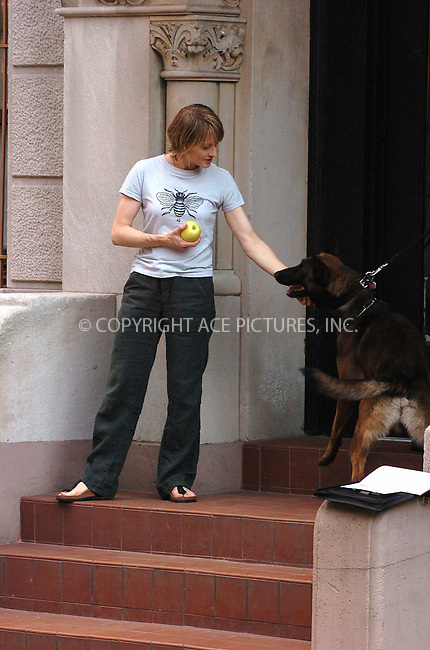 WWW.ACEPIXS.COM . . . . .  ....June 16, 2006, New York City....Jodie Foster on the set of 'The Brave One' ......Please byline: AJ Sokalner - ACEPIXS.COM..... *** ***..Ace Pictures, Inc:  ..(212) 243-8787 or (646) 769 0430..e-mail: info@acepixs.com..web: http://www.acepixs.com