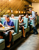 Arcana Restaurant in Boulder, Colorado, August 24, 2018. <br /> <br /> Photo by Matt Nager