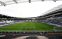 A general view of the Kingston Communications Stadium ahead of the Capital One Cup match between Hull City and Swansea City played at the Kingston Communications Stadium, Hull
