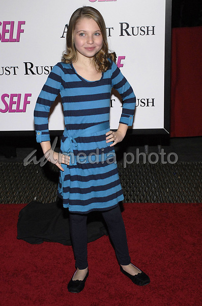 "11 November 2007 - New York, New York - Sammi Hanratty. The New York premiere of Warne Bros. Pictures' ""August Rush"" held at  the Ziegfeld Theater.  Photo Credit: Bill Lyons/AdMedia *** Local Caption ***"