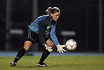 24 September 2009: North Carolina's Hannah Daly. The University of North Carolina Tar Heels defeated the Duke University Blue Devils 2-1 in sudden victory overtime at Fetzer Field in Chapel Hill, North Carolina in an NCAA Division I Women's college soccer game.