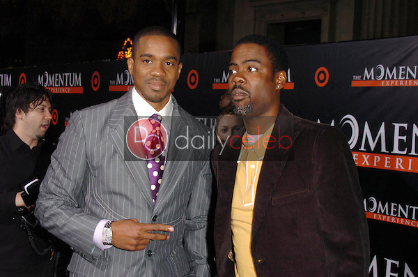 """Duane Martin and Chris Rock<br />at the premiere of """"The Seat Filler"""". El Capitan Theatre, Hollywood, CA. 02-22-06<br />Dave Edwards/DailyCeleb.com 818-249-4998"""