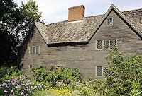 Ipswitch,  Mass..The 1655 Whipple House, the current location of the Ipswitch Historical Society