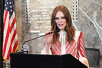 JUL 01 Julianne Moore at Empire State Building