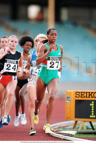 DIANE MODAHL, Women's 800m, AAA Championships, Birmingham, 980724. Photo: Neil Tingle/Action Plus...track.distance.athletics.running.1998.woman.track and field.female