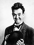 Stan Laurel (1890–1965) was an English comic actor, writer and film director, who was part of the comedy duo Laurel and Hardy. 1920s.