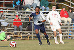 10 November 2007: Duke's Zack Pope (16). The Duke University Blue Devils defeated the North Carolina State University Wolfpack 2-0 at Method Road Soccer Stadium in Raleigh, North Carolina in an Atlantic Coast Conference NCAA Division I Men's Soccer game.
