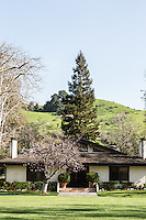Guest cottages at The Alisal Guest Ranch and Resort, Solvang, California.