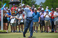 Matt Kuchar (USA) watches his tee shot on 1 during round 2 of the AT&amp;T Byron Nelson, Trinity Forest Golf Club, at Dallas, Texas, USA. 5/18/2018.<br /> Picture: Golffile | Ken Murray<br /> <br /> <br /> All photo usage must carry mandatory copyright credit (&copy; Golffile | Ken Murray)