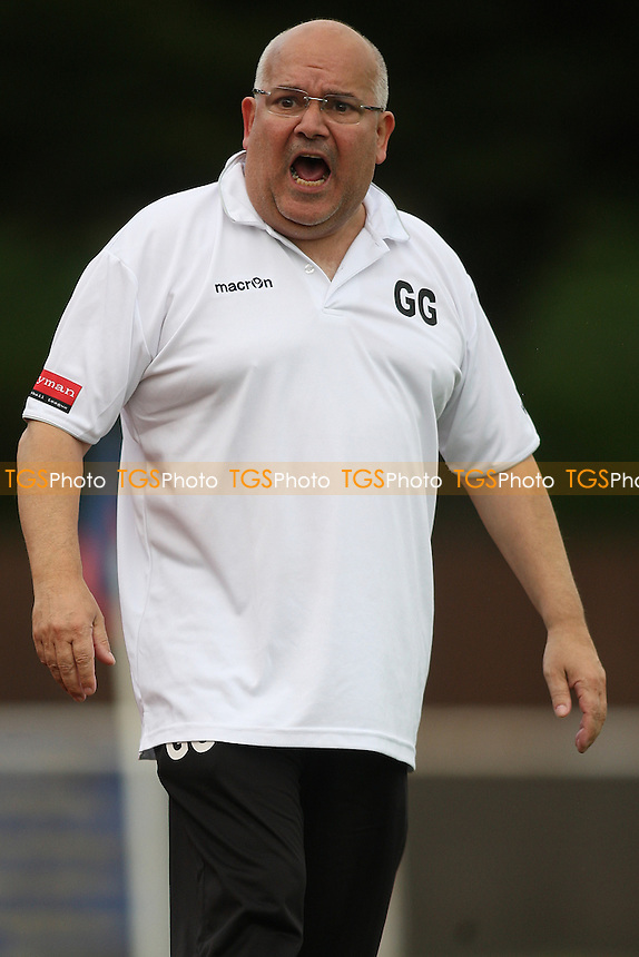 Gursel Gulfer manager of Barkingside during AFC Hornchurch vs Barkingside, Ryman League Divison 1 North Football at Hornchurch Stadium, Upminster Bridge, UK on 19/09/2015