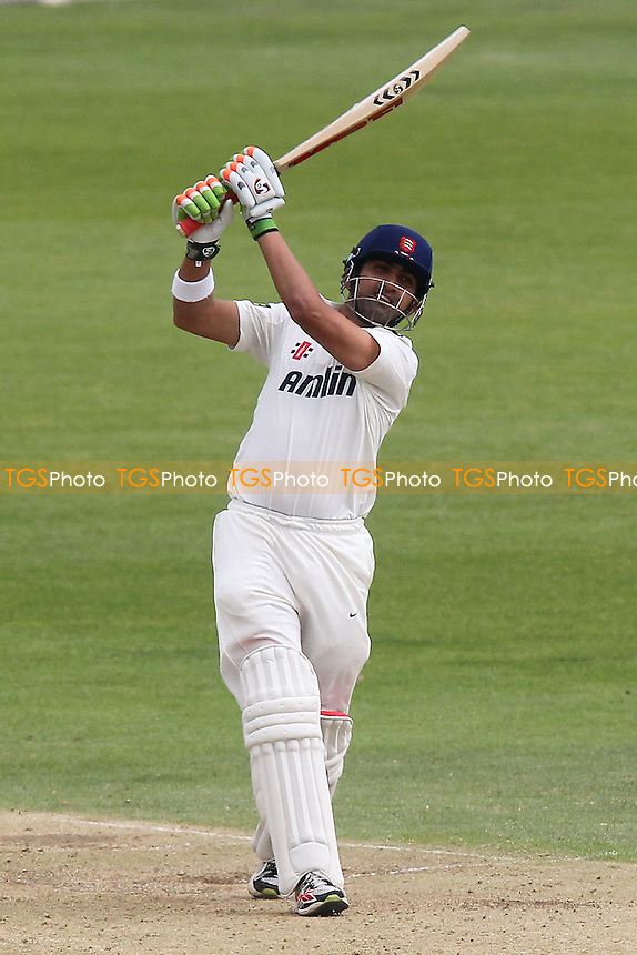 Gautam Gambhir hits out for Essex - Gloucestershire CCC vs Essex CCC - LV County Championship Division Two Cricket at the Bristol County Ground, Nevil Road, Bristol - 30/08/13 - MANDATORY CREDIT: Gavin Ellis/TGSPHOTO - Self billing applies where appropriate - 0845 094 6026 - contact@tgsphoto.co.uk - NO UNPAID USE