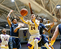 University at Albany men's basketball defeats Maine at the  SEFCU Arena, Feb. 24, 2018. Joe Cremo (#24) (Bruce Dudek / Eclipse Sportswire)