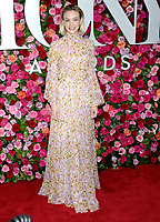 NEW YORK, NY - JUNE 10: Carey Mulligan attends the 72nd Annual Tony Awards at Radio City Music Hall on June 10, 2018 in New York City.  <br /> CAP/MPI/JP<br /> &copy;JP/MPI/Capital Pictures