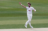 Sam Cook of Essex appeals for a wicket during Essex CCC vs Kent CCC, Bob Willis Trophy Cricket at The Cloudfm County Ground on 2nd August 2020