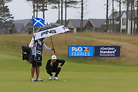 Marcus Kinhult (SWE) on the 7th during Round 2 of the Aberdeen Standard Investments Scottish Open 2019 at The Renaissance Club, North Berwick, Scotland on Friday 12th July 2019.<br /> Picture:  Thos Caffrey / Golffile<br /> <br /> All photos usage must carry mandatory copyright credit (© Golffile | Thos Caffrey)